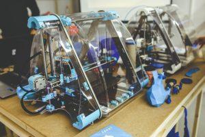 Zelfbouw 3D printer monteren