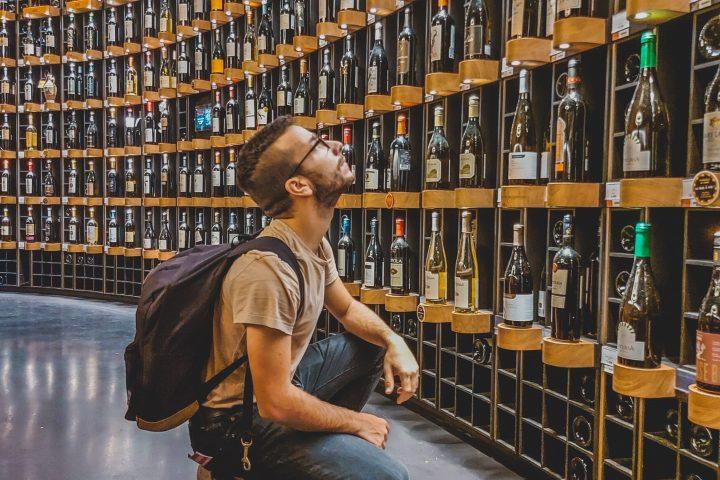 Maak je eigen design wijnrek